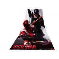 Buy cheap Oversized Cotton Photo Beach Towel Digital Print And Compressed Technics from wholesalers