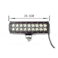 black 54Watt Automotive Led Light Bar Led Offroad Work Lights For cars Manufactures