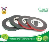 Black PE Foam Coated Double Side Tape With Solvent Acrylic Adhesive 0.8mm / 1mm / 2mm Manufactures