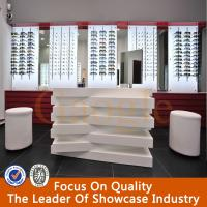 Fashion Interior Design Display Retail Optical Shop Decoration Manufactures