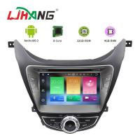 I35 Android 8.0 Hyundai Car DVD Player Dashboard With Steering Wheel Control Manufactures