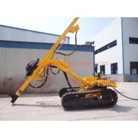 Top Hammer Rock Drilling Rig With Highly Efficient Pneumatic Motor Driven