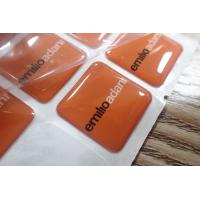 Buy cheap Custom Epoxy Resin Clear Crystal Dome Sticker / 3D Printing Epoxy Resin Label from wholesalers