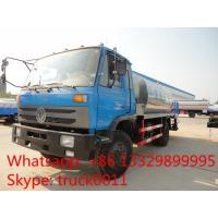 Quality Dongfeng Furuka 3000L asphalt tank truck for sale, small bitumen tank spraying for sale