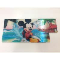 Customized Shape Die Cutting PP 3D Lenticular Stickers For Pencil Case ISO9001:2008 Manufactures