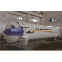 Chemical Laminated Vulcanizing Autoclave Aerated Concrete / Autoclave Machine Φ2m Manufactures