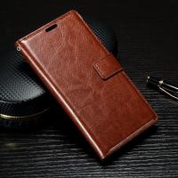 Crazy Horse Sony Xperia Leather Case For XP With Soft TPU Back Cover 62g Manufactures