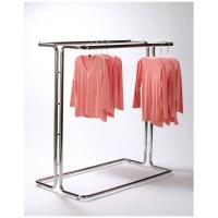 Quality Fashionable Metal Single Bar Garment Display Stand Clothes Hanging Rack For Hanging Items for sale