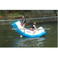 Safety Funny Inflatable Water Totter Toy , Inflatable Water Rocker On Water Manufactures