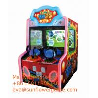 Game Center Coin Operated Pingpong Ball Shooting Arcade Video Game machine For Sale Manufactures