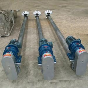 304  Stainless steel Horizontal screw feeder stainless steel screw conveyor hopper auger conveyor Manufactures
