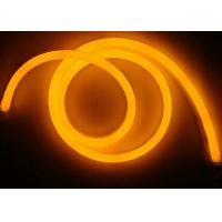 Flexible Orange Neon Lights , CE 220V Input Neon Fluorescent Light Tubes Manufactures