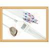 Buy cheap Insulated Fukuda Me Ecg Monitor Cable Banana AHA Gray Color from wholesalers