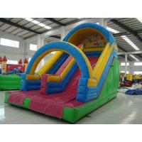 Commercial Tarpaulin Inflatable Sport Games , 9 Meters Length , Slide Slip Safety Manufactures