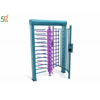 RFID Full Height Turnstiles / Data Entry Gate Automatic Security Barriers Manufactures