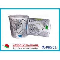 Flushable Wet Wipes Rolls For Household Toilet Use , Slight Scented Wet Wipes Manufactures