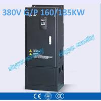 160kw 185kw motor pump 50Hz/60Hz AC drive CNC Variable-Frequency Drive VFD AC-DC-AC Low Voltage frequency converter Manufactures