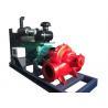 low pressure sewage water pump by Cummins engine , diesel powered water pumps Manufactures