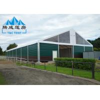 A Frame Sporting Event Tents Waterproof With Soft PVC Walls / Glass Walls Manufactures