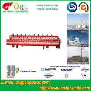Solar Boiler Hydraulic Header Manifold / Manifold Header High Heating Efficiency Manufactures
