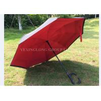 Fashional Reflective Opposite Folding Umbrella , Inside Out Umbrella As Seen On Tv