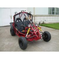 Electric Motor Go Kart 150CC Single Seat Chain Drive with Four Wheels Manufactures