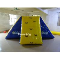 0.9mm PVC tarapaulin Commercial Inflatable Pool Toys Bouncy Water Slides For Amusement Park Manufactures