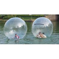 Water Bounce Inflatable Human Water Walking Ball , Walking On Water Bubble Ball Manufactures