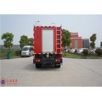 Quality Gross Weight 7800kg Rescue Fire Truck , Human Engineering Design Foam Fire for sale