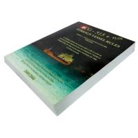 ODM 1c+1c 200gsm C2S art paper Softcover Book Printing Services with perfect binding Manufactures