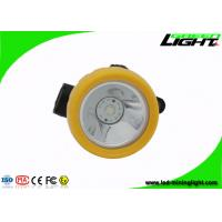 Buy cheap GLT-2 cordless coal cap lamp with 4500lux strong brightness,2.2Ah Li-ion Battery from wholesalers