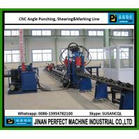 Quality Single Blade Cutting CNC High Speed Angle Punching, Shearing & Marking Line In for sale