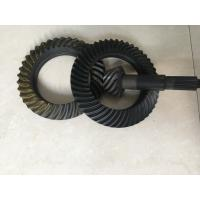 Custom Ring And Pinion Gears , Spiral Crown And Pinion Gear Long Using Life Manufactures
