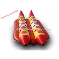 Waterproof Ocean Inflatable Banana Boat Towable Inflatable Water Toys Manufactures