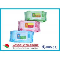 Quality Various Packages Baby Wet Wipes Plain Spunlace Nonwoven Bulk Alcohol Free for sale