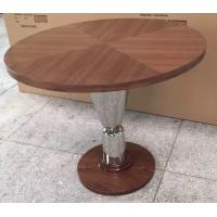 wood top metal base Dining table /activity table for hotel furniture/casegoods DN-0019 Manufactures