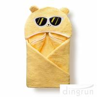 Buy cheap Customized Soft And Absorbent Cotton Baby Hooded Towels For Children Eco from wholesalers