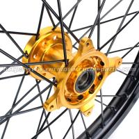 Quality 36 Holes Motorcycle Rear Wheel Rim With Different Color Combinations for sale