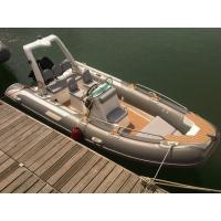 Luxury Rigid hull inflatable boat 5.2 meter length 1.95 meter width YAMAHA 90HP engine Manufactures