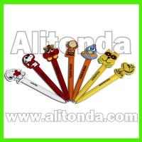 Buy cheap Custom and supply magnetic pen cartoon pen ball pen for office school bank from wholesalers