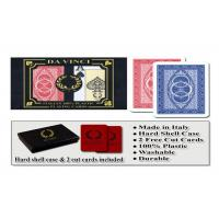 100% Plastic Da Vinci Route Marked Playing Cards For Poker Cheat Bridge Size Manufactures
