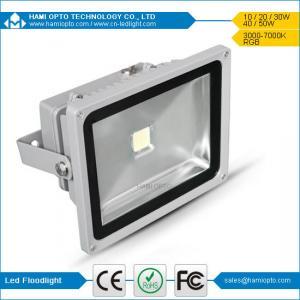LED Flood Light 40W Bridgelux Waterproof IP65 Outdoor white housing LED Flood Light Manufactures