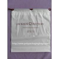 Dry Cleaning Shop Disposable Plastic Laundry Bag Poly Drawstring Bags / Lundry Bag / Laundri Bag Manufactures