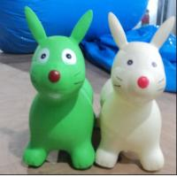 Environmental Protection Soft Plastic Inflatable Animal Toys , Inflatable Children Toys Custom Manufactures