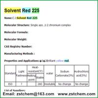 Solvent Red 225 Manufactures
