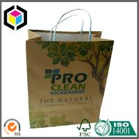Origin Brown Kraft Paper Bag Twisted Paper Handle for Shopping Use Custom Color Print Manufactures
