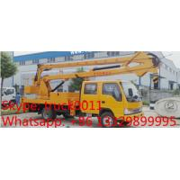 competitive price 10m-24m overhead working truck, best price CLW Brand 12m-24m high altitude operation truck for sale Manufactures