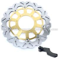 Custom 320mm Wave Floating Motorcycle Brake Discs For motorbike