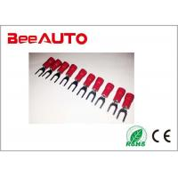 SV1.25-3.5 Red Furcate Type Insulated Fork Terminal 19A Fireproof Resistant Manufactures