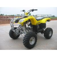 Yellow 250CC Utility Racing ATV Four Wheels 4 Stroke With Reverse Manufactures